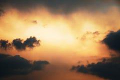 Foto del cielo con le nuvole fotografia stock libera da diritti