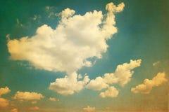 Foto del cielo del vintage Fotos de archivo