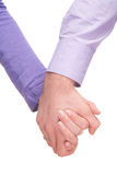 Foto del concepto de la amistad y del amor Fotografía de archivo