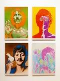 Foto del ` de las ilustraciones originales el Beatles de Richard Avedon Foto de archivo libre de regalías