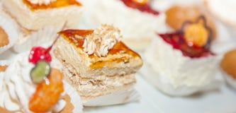 Foto 20 del dolce di ricezione di buffet del ristorante Fotografie Stock
