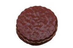 Foto del emparedado de la galleta del chocolate Fotografía de archivo libre de regalías
