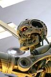 Foto del esqueleto del extremo T-800 imagen de archivo libre de regalías