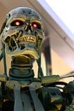 Foto del esqueleto del extremo T-800 fotos de archivo libres de regalías