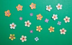 Foto del estampado de flores Fotografía de archivo