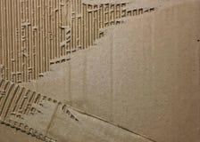 Foto del fondo de la textura de la caja de papel de la cartulina Foto de archivo libre de regalías