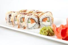 Foto del Giappone dell'alimento dei sushi Fotografia Stock Libera da Diritti