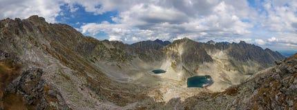 Foto del lago en las altas montañas de Tatra, Eslovaquia, Europa del pleso de Vysne Wahlenbergovo Imagenes de archivo