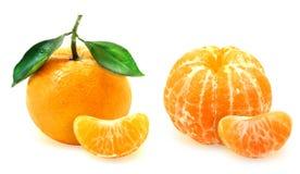 Foto del mandarino saporito Immagine Stock Libera da Diritti