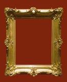 Foto del marco de oro envejecido Imagenes de archivo
