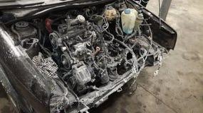 Foto del motor congelado Imagen de archivo