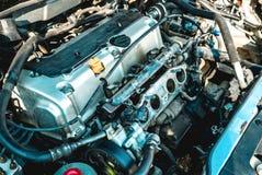Foto del motore a combustione interna immagine stock