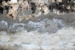 Foto del muro de cemento gris para el fondo de la textura Foto de archivo libre de regalías