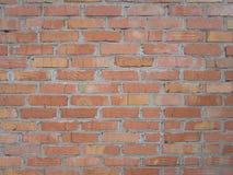 Foto del muro di mattoni rosso Immagine Stock