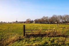 Foto del paesaggio dei motivi dell'agricoltore Fotografie Stock Libere da Diritti