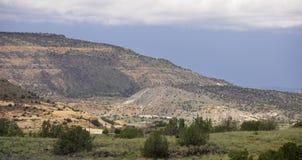 Foto del paesaggio della montagna Immagini Stock