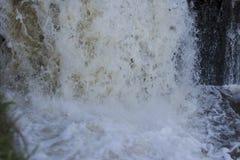 Foto del paesaggio, la bella acqua di caduta Fotografia Stock Libera da Diritti