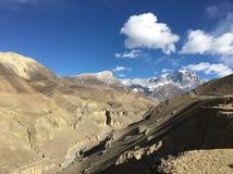 Foto del paisaje del mustango Nepal imagen de archivo libre de regalías