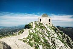 Foto del parco nazionale di Lovcen di estate Paesaggi del Montenegro immagini stock