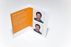 Foto del passaporto degli Stati Uniti Immagini Stock