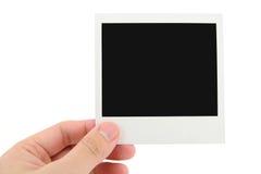 Foto del Polaroid fotografia stock