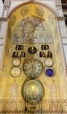 Foto del reloj astronómico de Olomouc, República Checa de HDR Fotografía de archivo libre de regalías