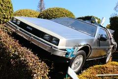 Foto del replicathe de A de nuevo al DeLorean futuro Fotos de archivo libres de regalías