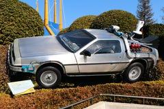 Foto del replicathe de A de nuevo al DeLorean futuro Imágenes de archivo libres de regalías