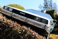 Foto del replicathe de A de nuevo al DeLorean futuro Imagen de archivo