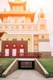 Foto del templo del bhuddhist - domicilio de oro del khurul del Buda Shakyamuni fotografía de archivo