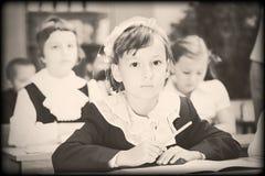 Foto del viejo estilo de la edad elemental Imágenes de archivo libres de regalías