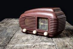 Foto del vintage de la radio vieja Imagen de archivo