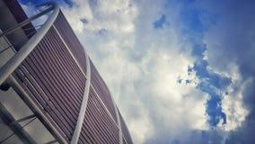 Foto del vintage del cielo Fotografía de archivo libre de regalías
