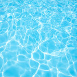 Foto dell'acqua blu Immagini Stock