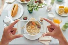 Foto dell'alimento di invio immagine stock libera da diritti