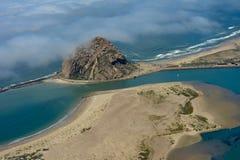 Foto dell'antenna della baia di Morro Fotografia Stock Libera da Diritti