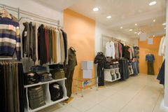 Foto dell'interiore del negozio immagini stock