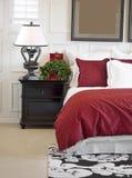 Foto dell'interiore della camera da letto Fotografia Stock
