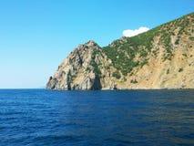 Foto della costa di mare della Crimea Fotografia Stock