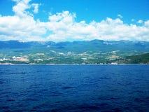 Foto della costa di mare della Crimea Immagini Stock