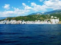 Foto della costa di mare della Crimea Fotografia Stock Libera da Diritti