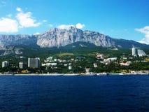 Foto della costa di mare della Crimea Immagine Stock Libera da Diritti