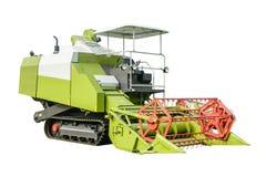 Foto della macchina del raccolto con fondo isolato Fotografia Stock Libera da Diritti