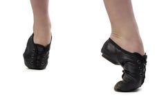 Foto della ragazza che sta sulla punta dei piedi Immagine Stock Libera da Diritti