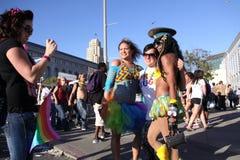 Foto della regina di resistenza ad orgoglio di San Francisco fotografie stock