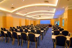 Foto della sala per conferenze dell'hotel fotografie stock