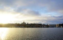 Foto della vista di Stoccolma Fotografia Stock