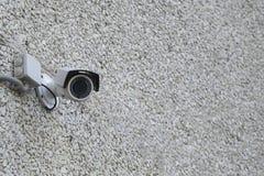 Foto delle azione del sistema di sicurezza della videocamera immagini stock