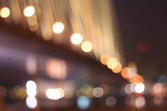 Foto delle luci del bokeh Fotografia Stock