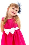 Foto dello studio dei bambini concentrare Fotografia Stock Libera da Diritti